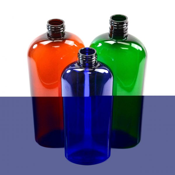 CosmOval Bottles Green Packaging