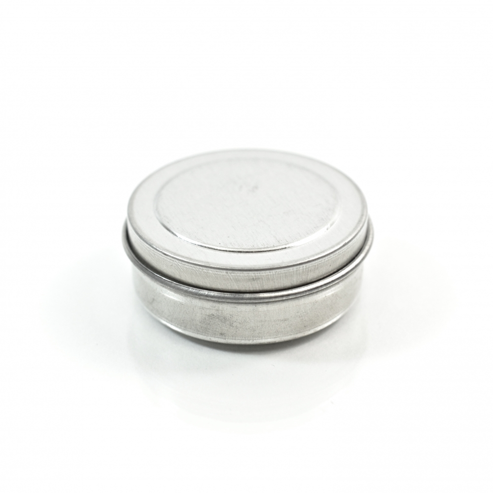 0.25 oz. Seamless Shallow Metal Straight Base Jar