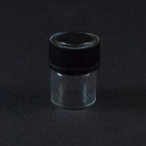 0.33 DRAM 13-425 Screw Thread Clear Glass Vial_3346