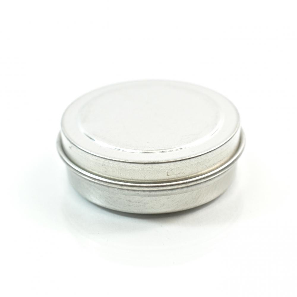 0.5 oz. Seamless Shallow Metal Straight Base Jar