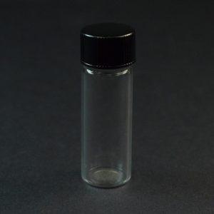 1 DRAM 13-425 Screw Thread Clear Glass Vial_3356