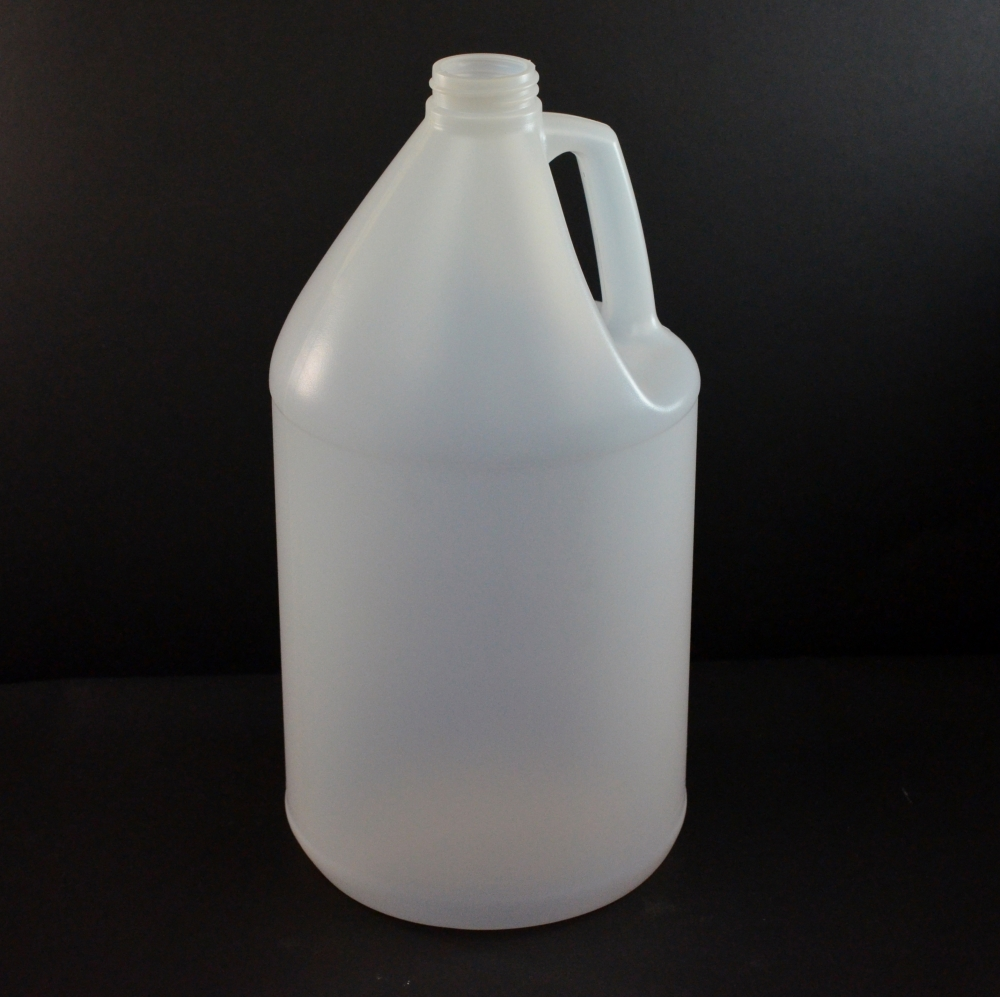 1 Gallon 38/400 Natural Jug Handle HDPE