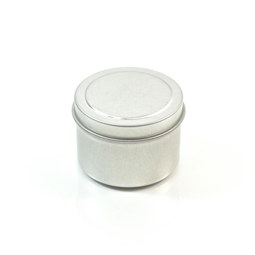 1 oz. Seamless Deep Metal Straight Base Jar