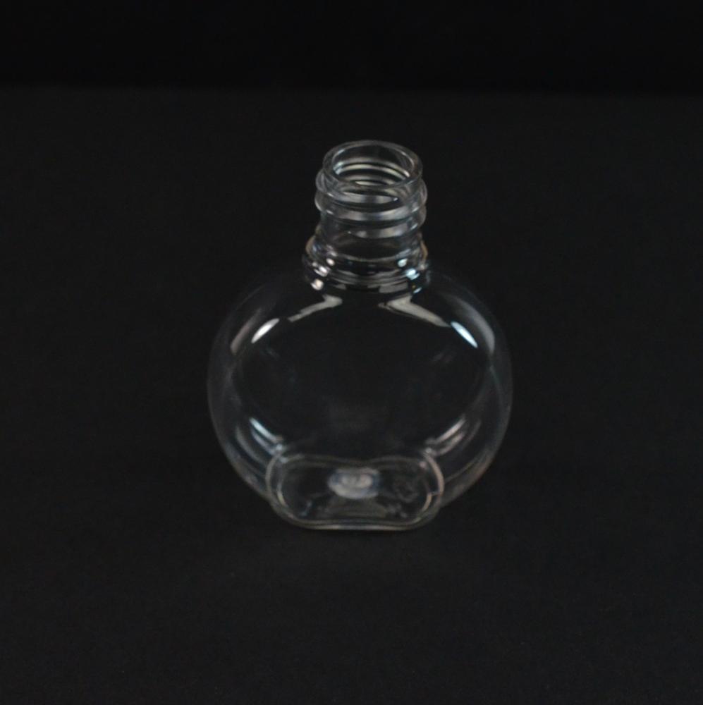 1.25 oz 18/415 Clear PET Clock Amenity Bottle