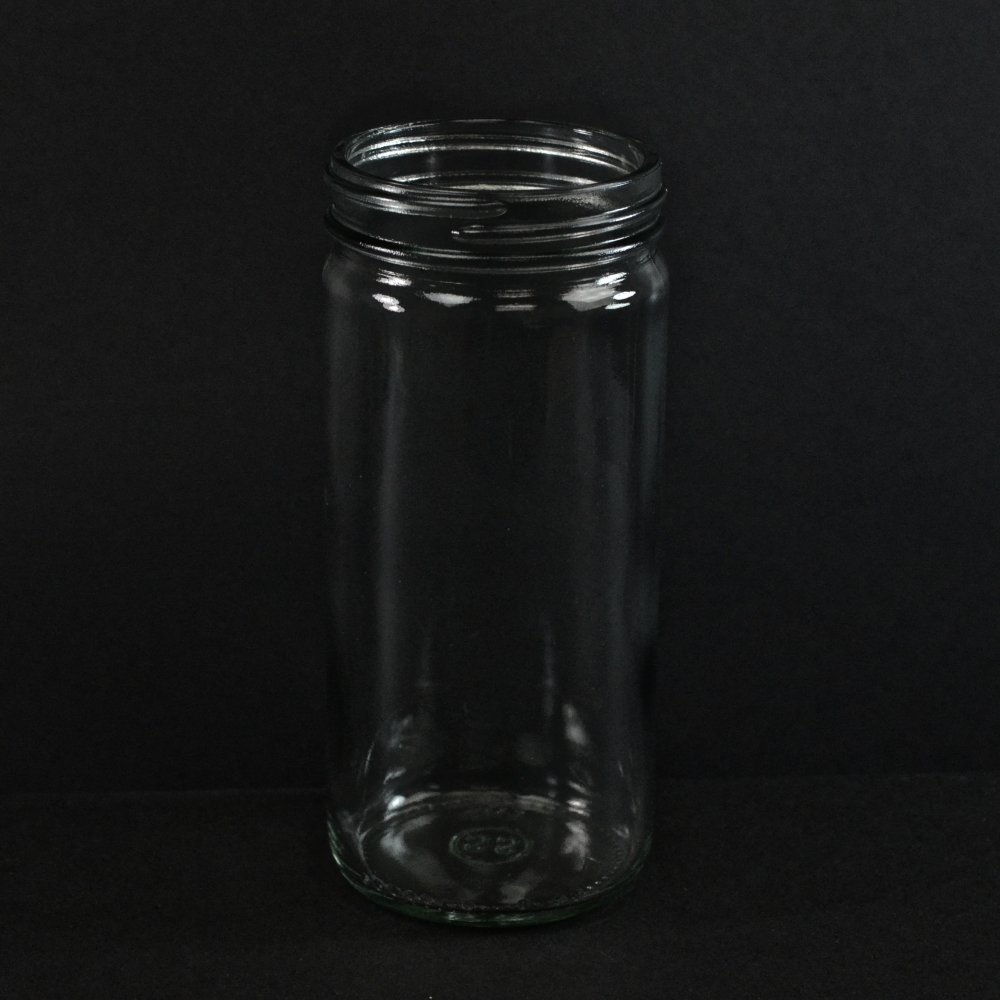 12 OZ 63/2030 Flint Paragon Glass Jar