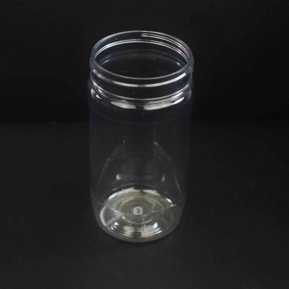 12 oz 63 mm Clear PET Food Jar