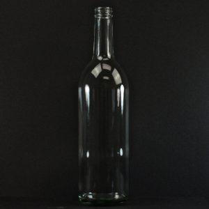 16 OZ 82-2040 Flint Squat Round Glass Jar_1153