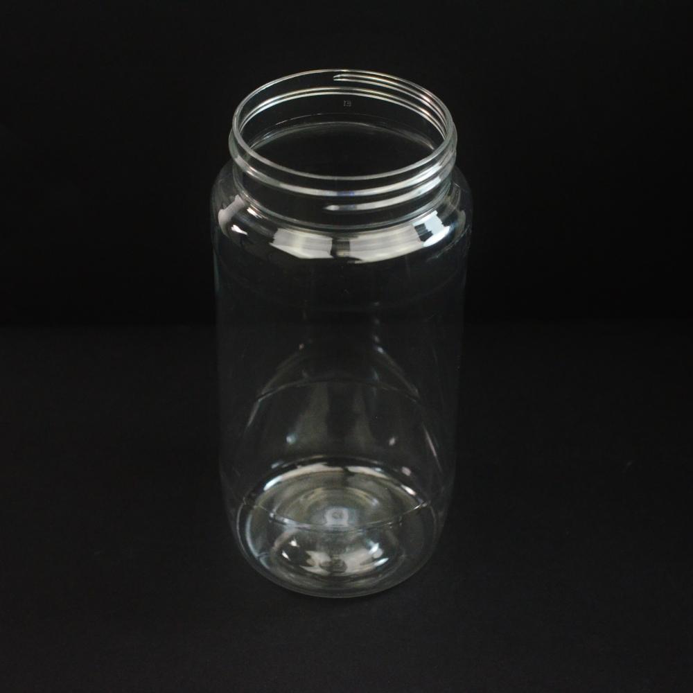 16 oz 63 mm Clear PET Food Jar