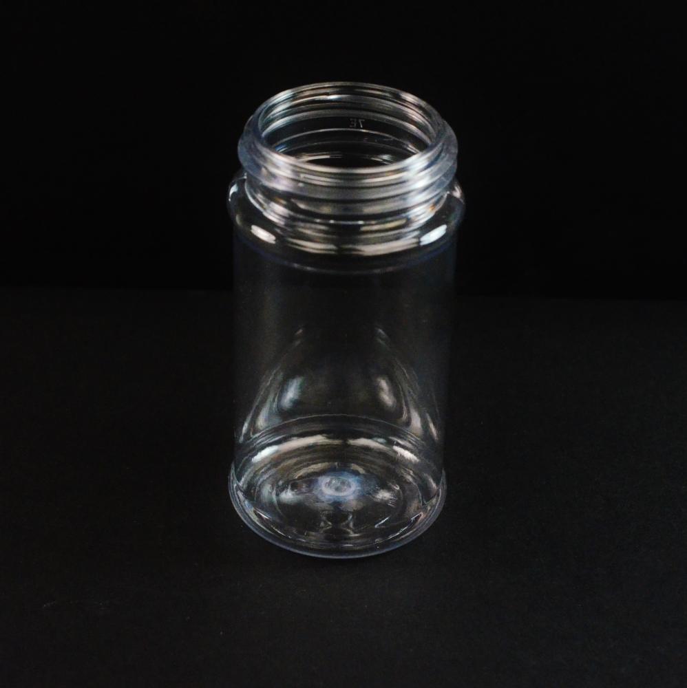2 oz 43 mm Clear PET Spice Jar