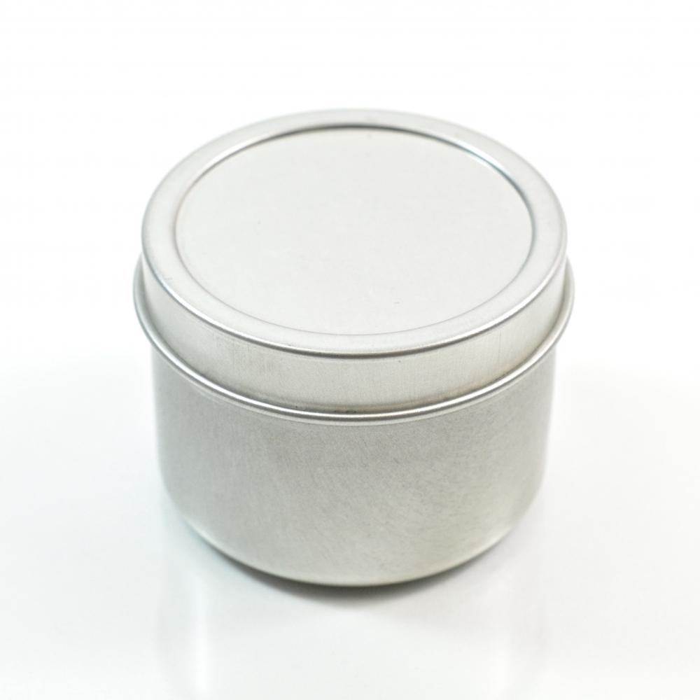 2 oz. Seamless Deep Metal Straight Base Jar