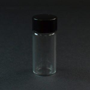 2.33 DRAM 18-400 Screw Thread Clear Glass Vial_3366