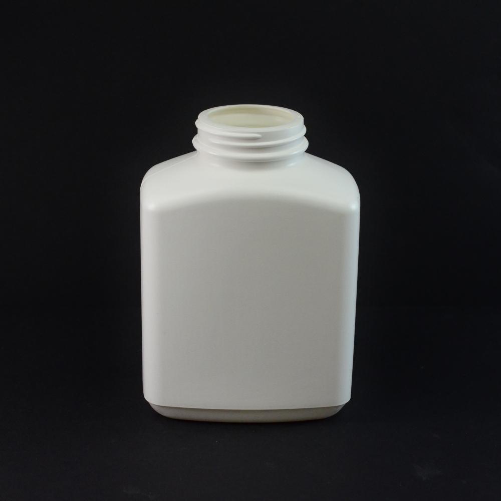 24oz 53/400 White Oblong Space Saver HDPE