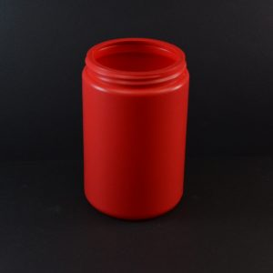 25 oz 89-400 Dark Red HDPE Canister_1348