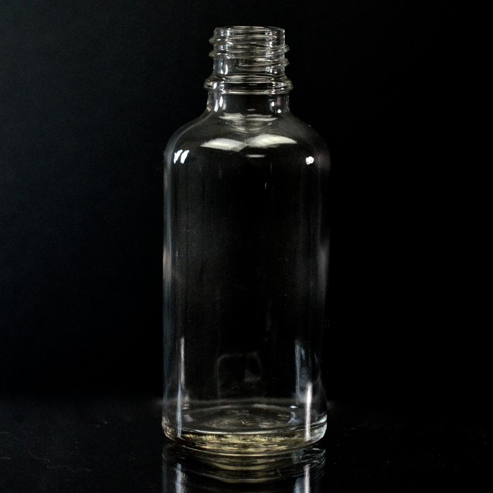 30 ml Euro Dropper 18-DIN Clear Glass Bottle