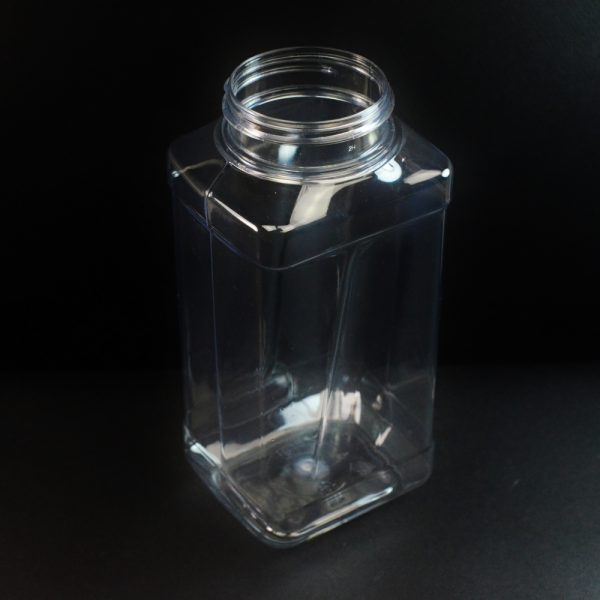 32 oz 63 mm Clear PET Grip Food Jar_3719