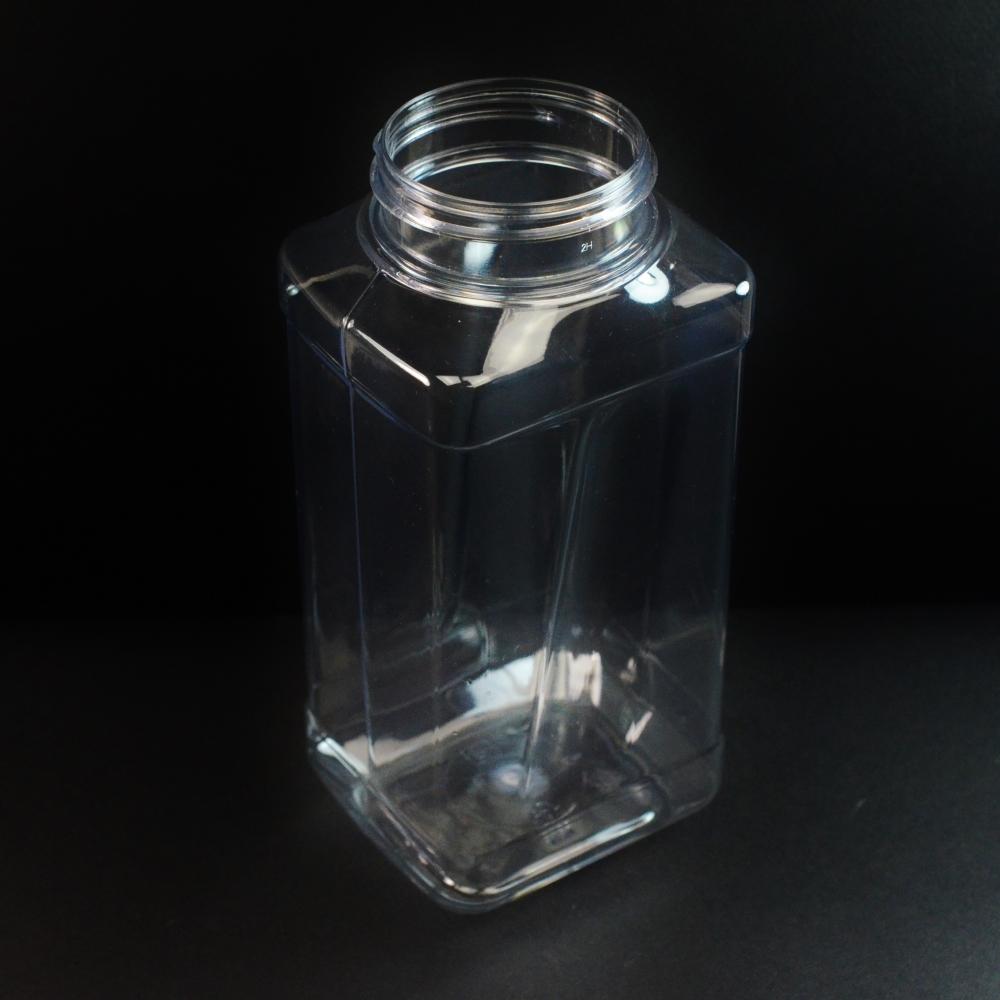 32 oz 63 mm Clear PET Grip Food Jar