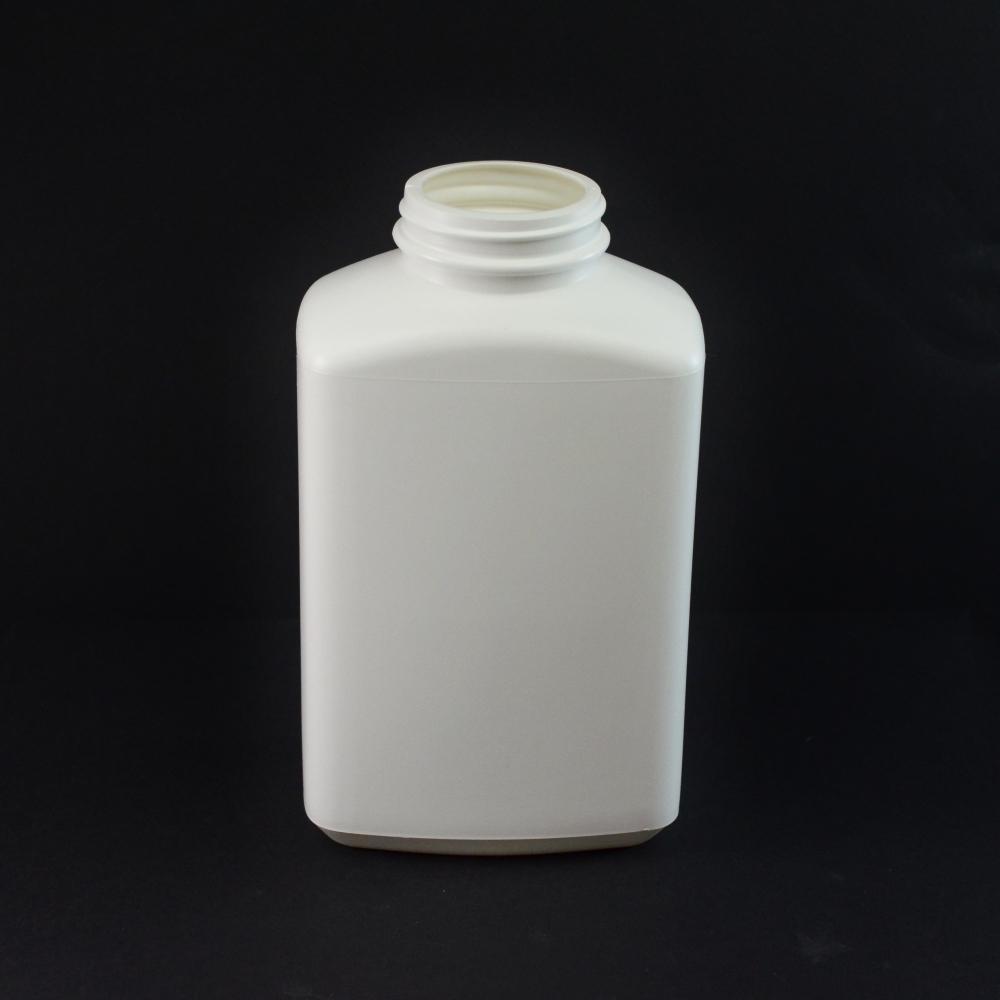 32oz 53/400 White Oblong Space Saver HDPE