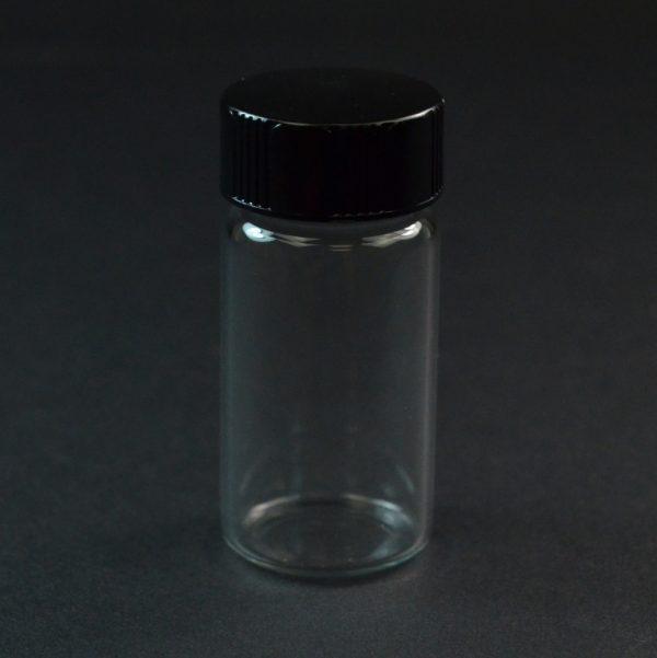 4 DRAM 22-400 Screw Thread Clear Glass Vial_3370