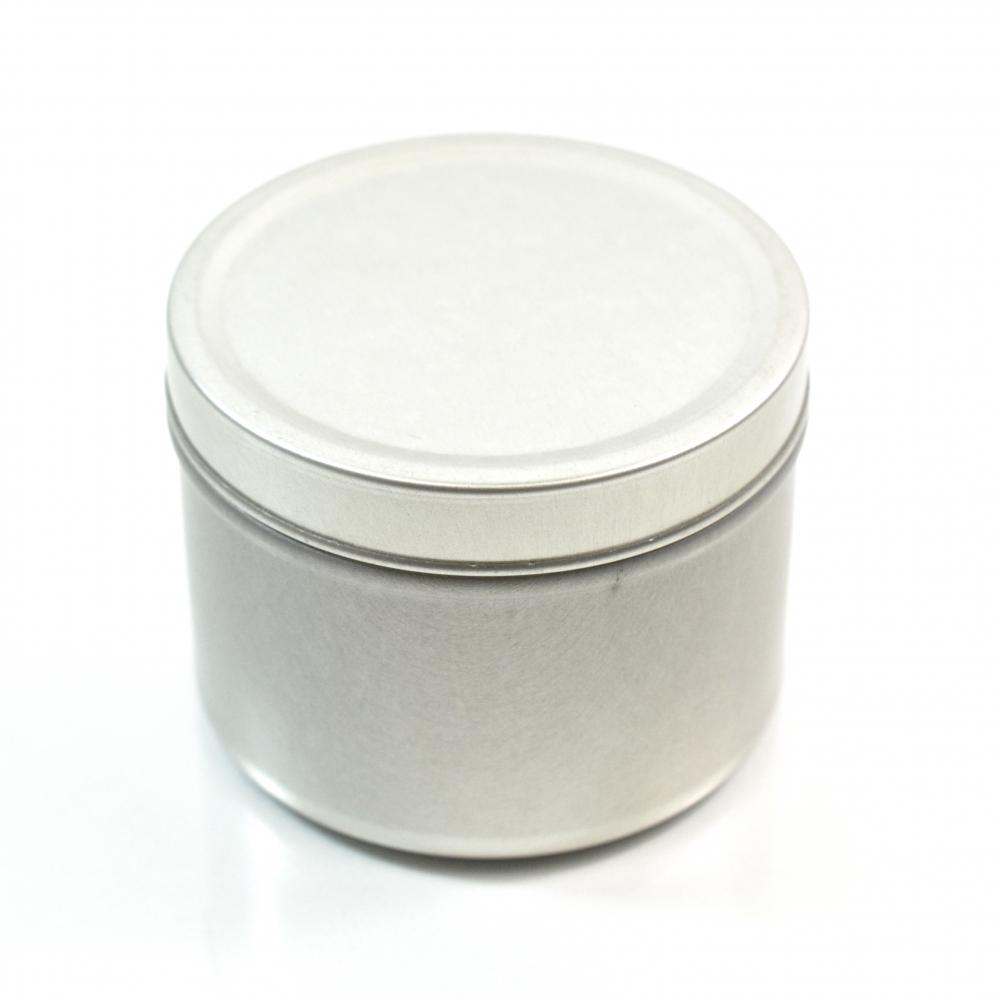 4 oz. Seamless Deep Metal Straight Base Jar