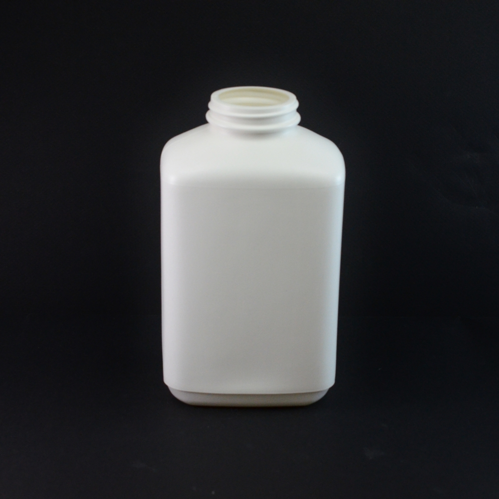 40oz 53/400 White Oblong Space Saver HDPE