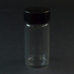 5 DRAM 24-400 Screw Thread Clear Glass Vial_3371
