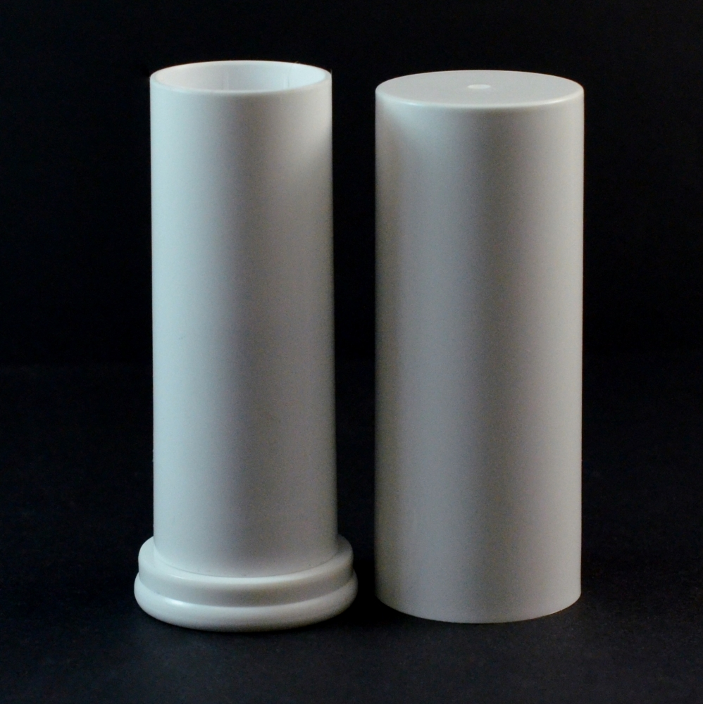 .63 oz White Large Lip Balm Container, 3.15″ Tall with Cap – #880