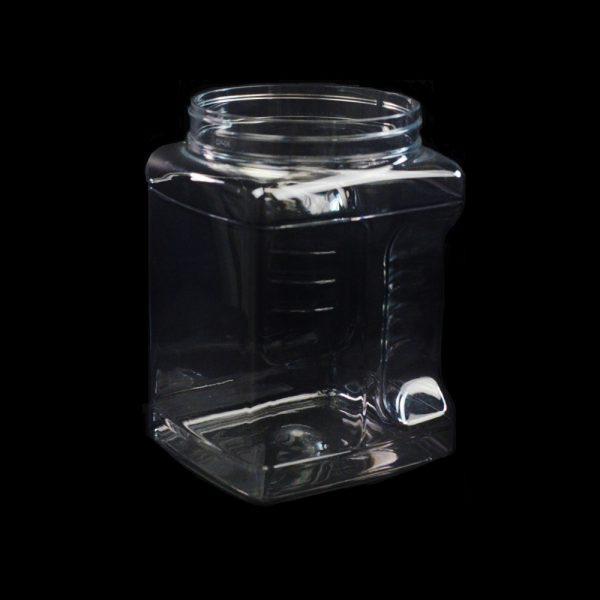 64 oz 110mm Clear Grip PET Jar_3720