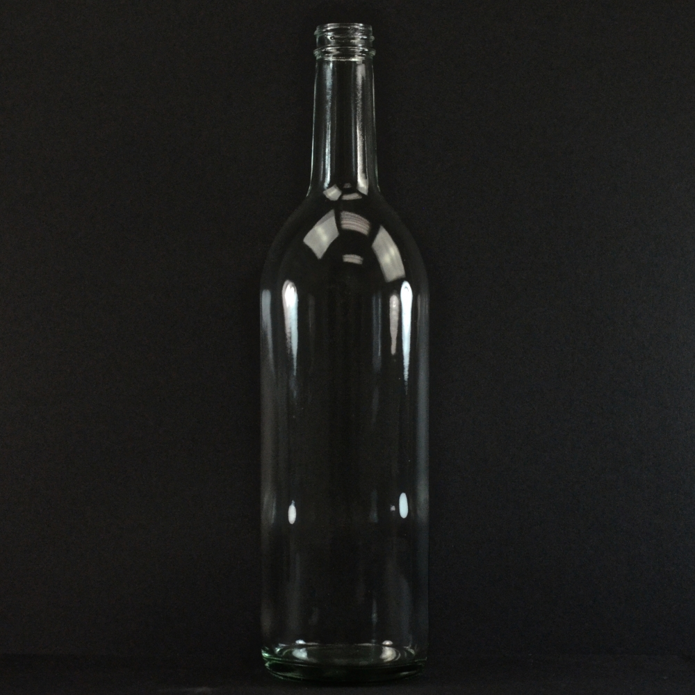 750 ML 28/400 Flint Wine Glass Bottle