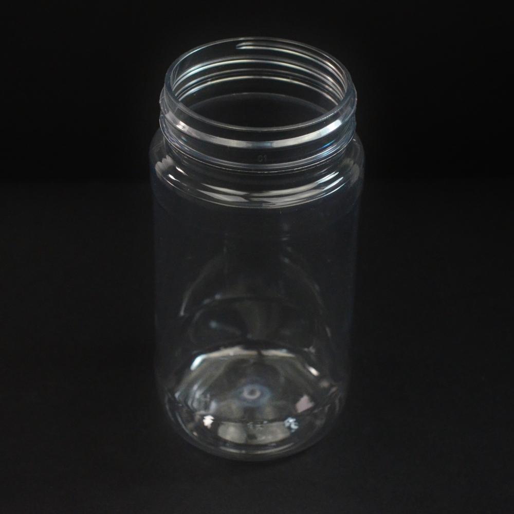 8 oz 53 mm Clear PET Food Jar