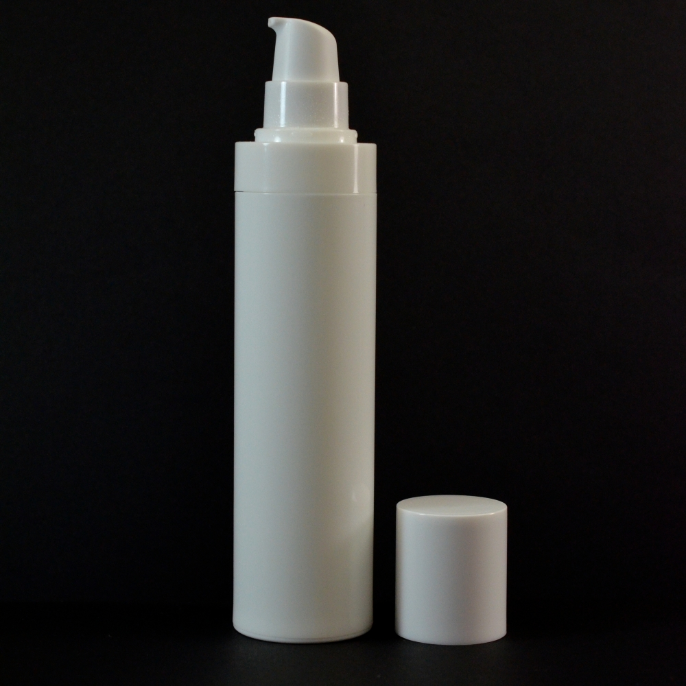 120 ml Airless White Bottle