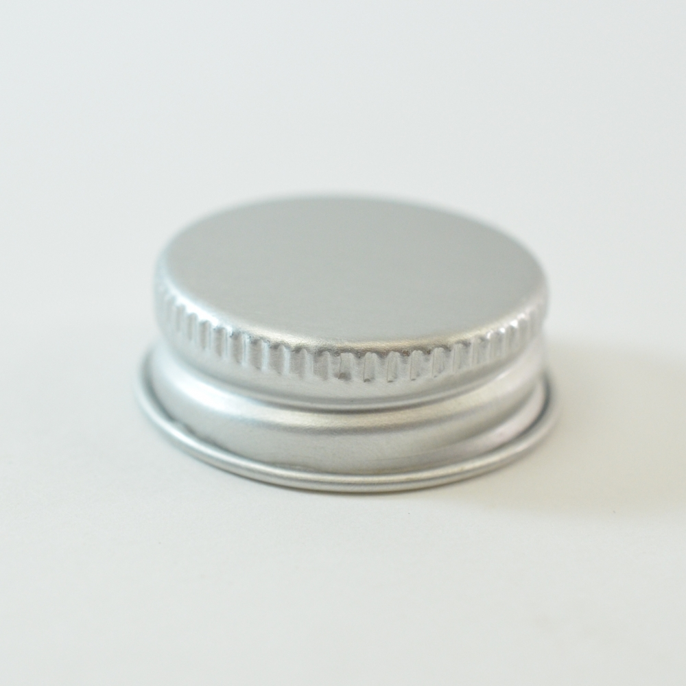28/400 Aluminum Cap with PE Foam Liner