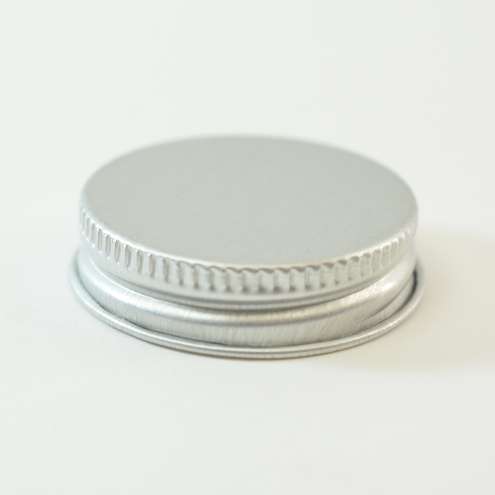 38/400 Aluminum Cap with PE Foam Liner