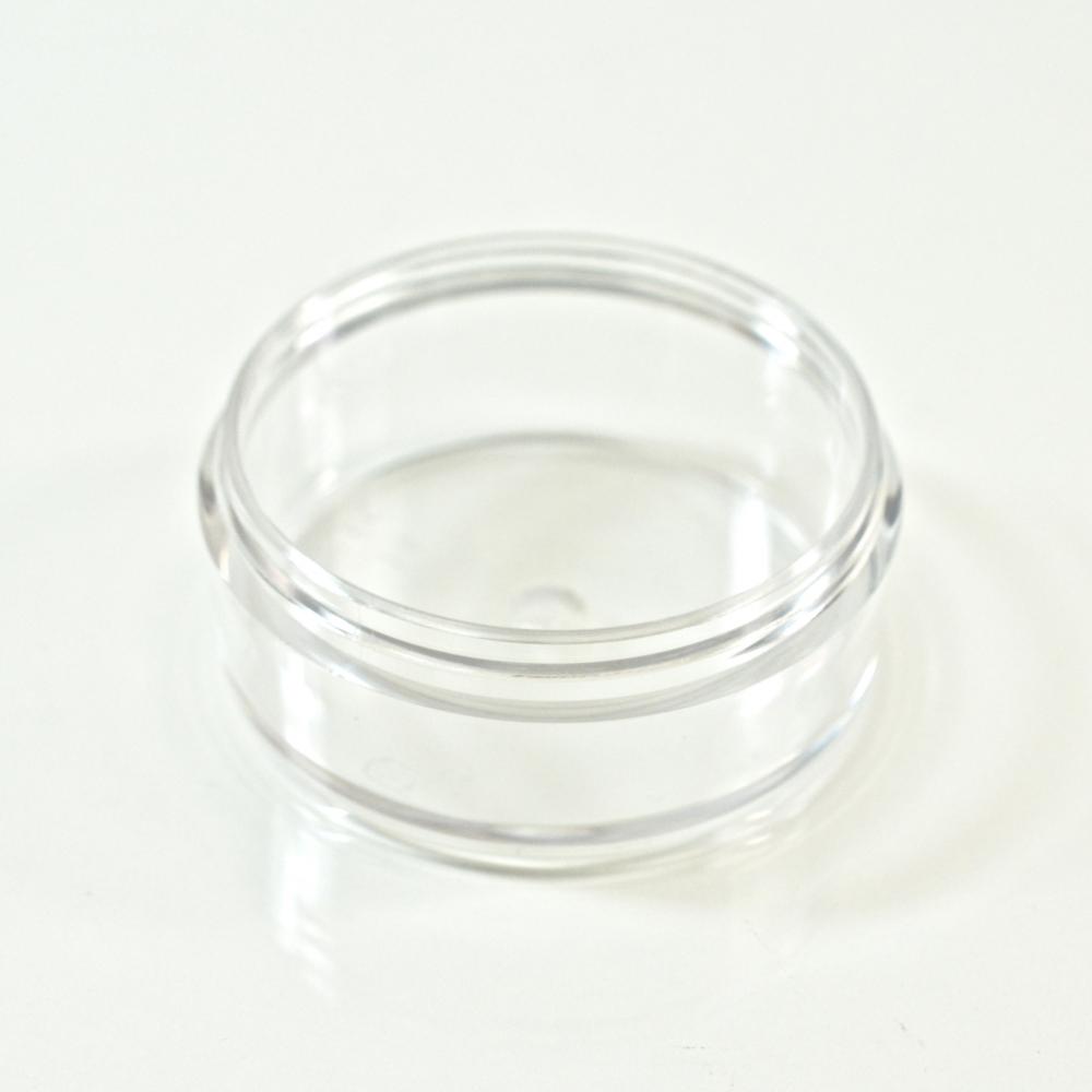 0.75 oz. PETG Clear Special Cosmetic Powder Jar