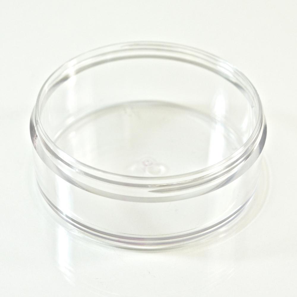 2 oz. Special PETG Clear Cosmetic Powder Jar