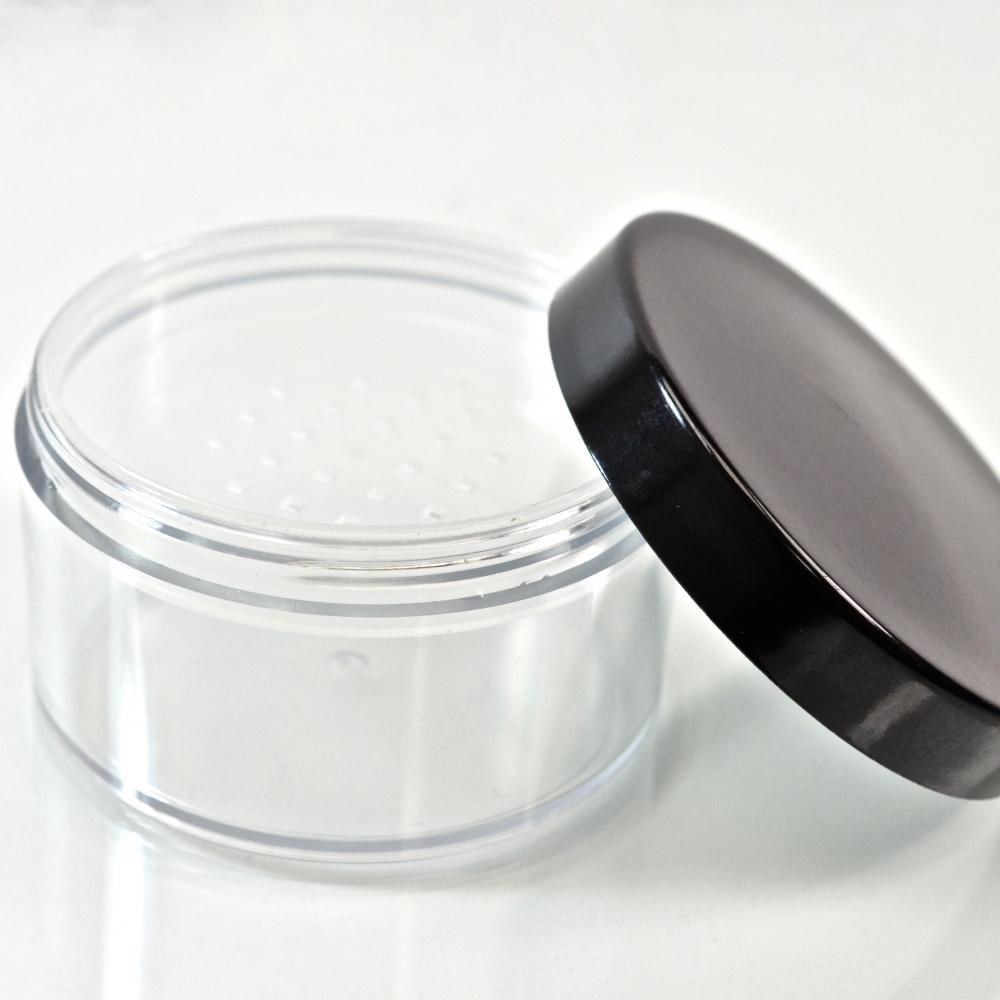2.5 oz. 63/400 Clear Cosmetic Powder Jar