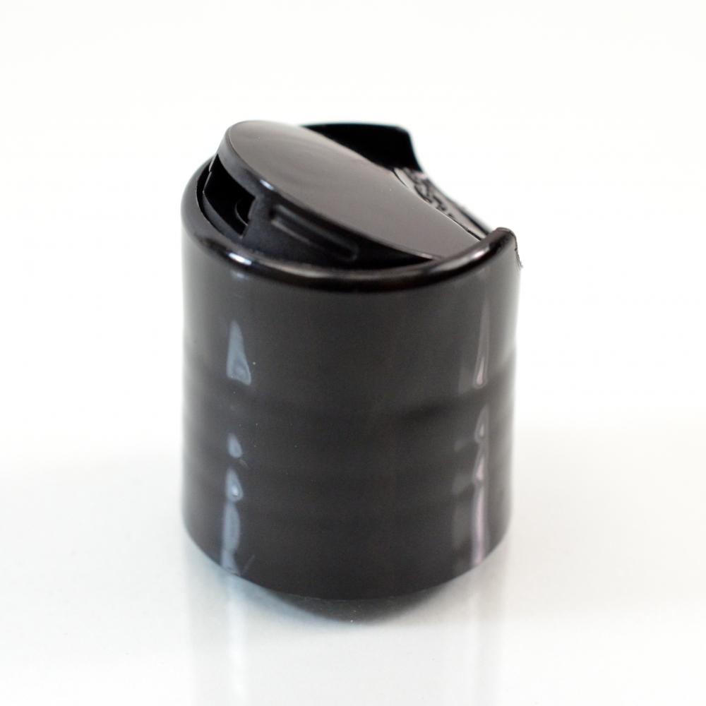 20/410 10-5301 Smooth Black Presstop Dispensing Cap PP