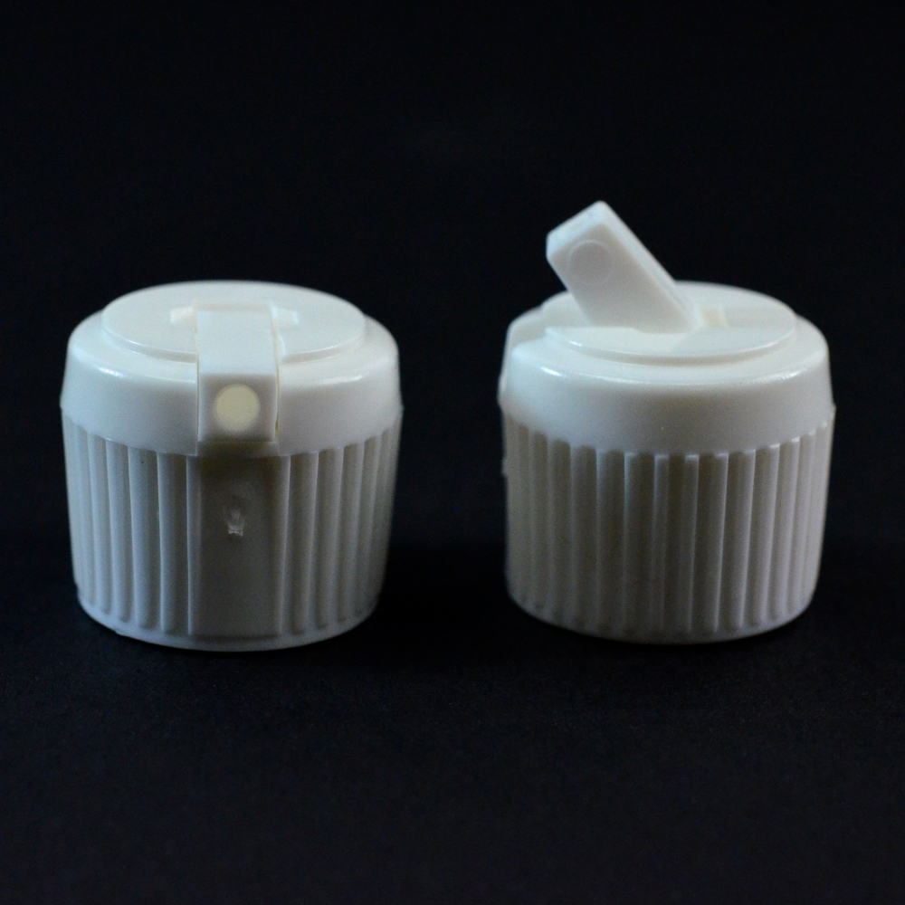 18/410 White Dispensing Spouted Cap PS-116 Land Seal PP