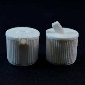 Dispensing Spouted Cap 18-410 PS-196 Valve Seal White_1880