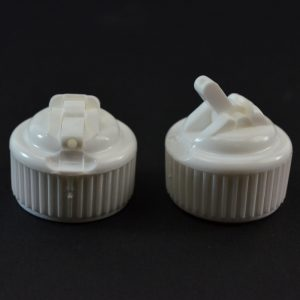 Dispensing Spouted Cap 24-410 PS-104 Valve Seal White_1904