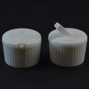 Dispensing Spouted Cap 24-410 PS-146 Land Seal White_1906