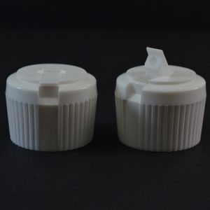 Dispensing Spouted Cap 28-410 PS-121 Land Seal White_1917