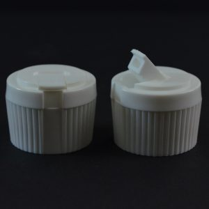 Dispensing Spouted Cap 28-410 PS-134 Land Seal White_1918