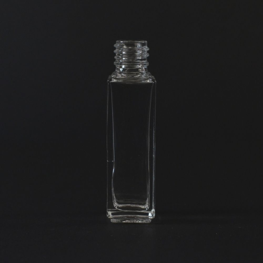 1/4 oz 13/415 Nancy Square Clear Glass Bottle