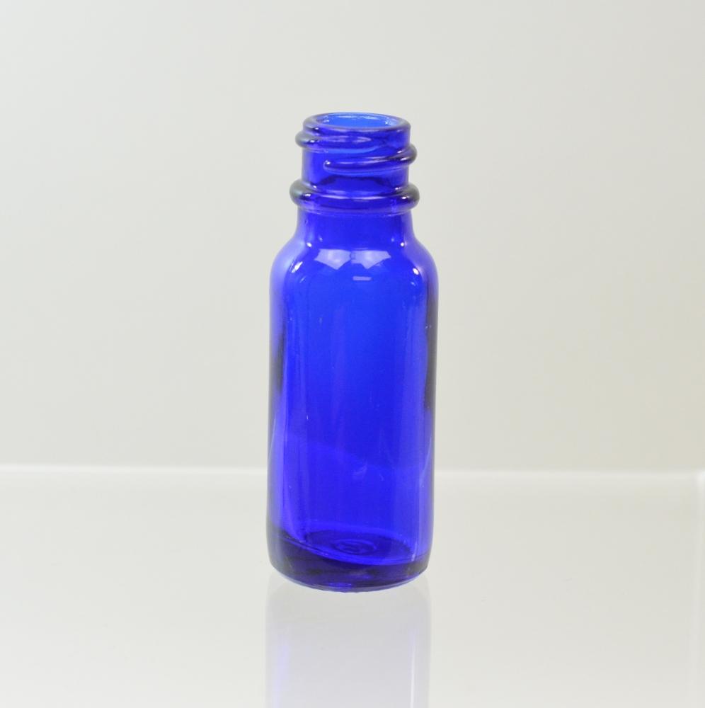 1/2 oz Boston Round 18/400 Cobalt Glass Bottle