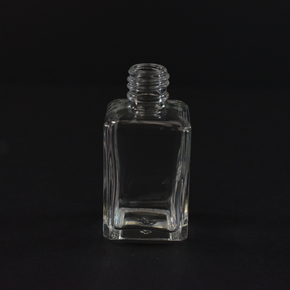 1/2 oz 13/415 Clyde Clear Glass Bottle