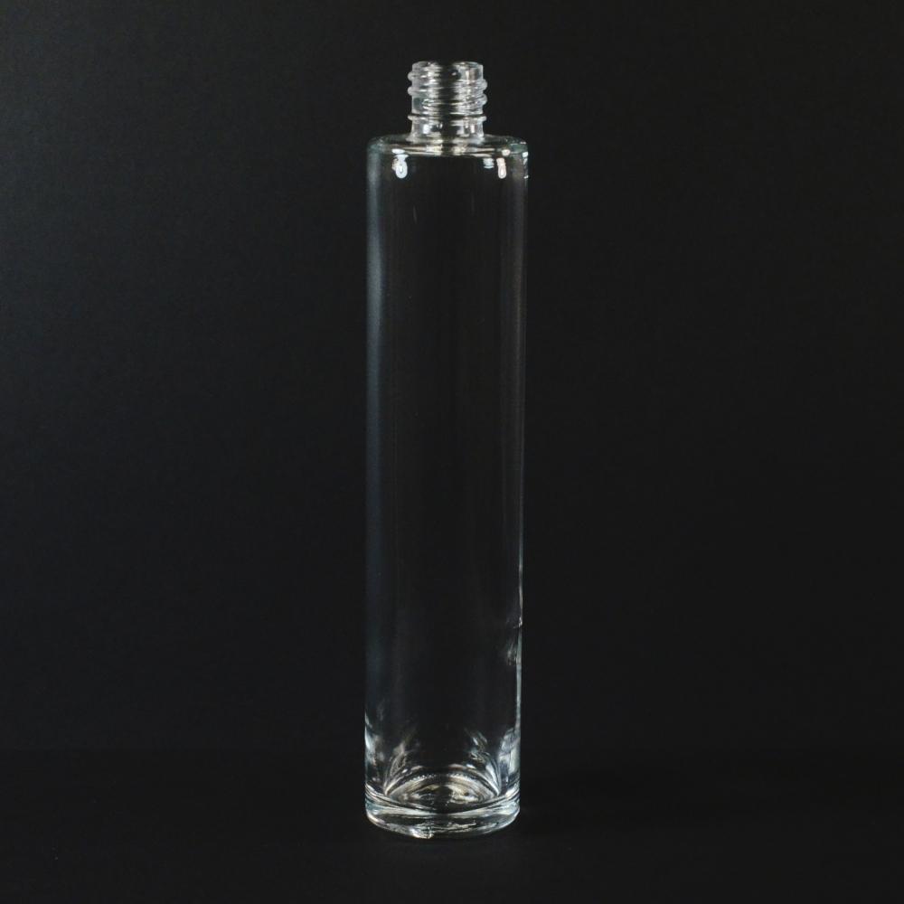 100 ml 18/415 Slim Cylinder Clear Glass Bottle