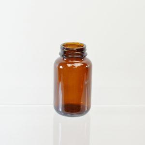 Glass Bottle 120cc Pharmaceutical Packer Amber 38-400_3088