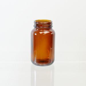 Glass Bottle 150cc Pharmaceutical Packer Amber 45-400_3089