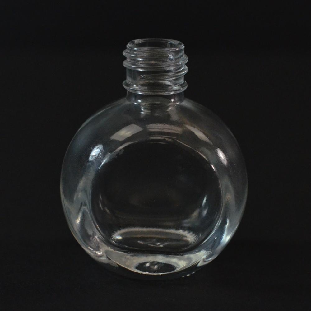 17 ml 13/415 Bella Oval Clear Glass Bottle