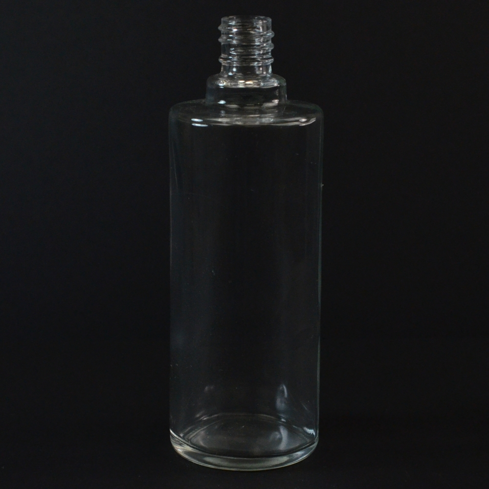 250 ml E6 Ronde Cylinder Clear Glass Bottle